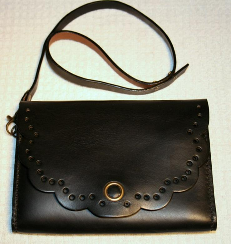 Damen Leder Tasche Clutch Handmade Neue Einzelstück
