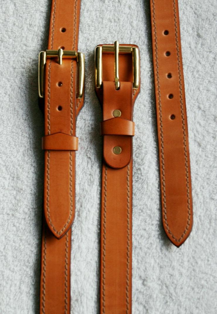 Hosenträger Leder Handmade Vintage Neue Einzelstück