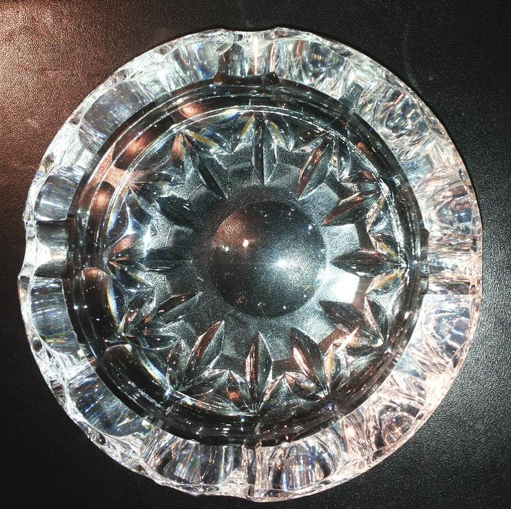 Aschenbecher Kristall Glas (FP) noch 1 x Preis runter gesetzt !