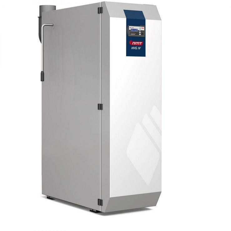 1A NMT Holzvergaser Kessel Scheitholz HVG IV 15. 17 kW. EEK: A+