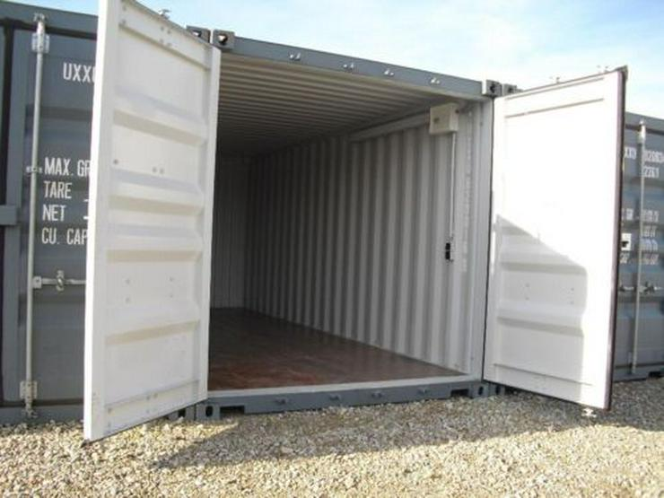 Lager-Garage-Container - Archiv Miniwerkstatt mit Licht und Strom Video
