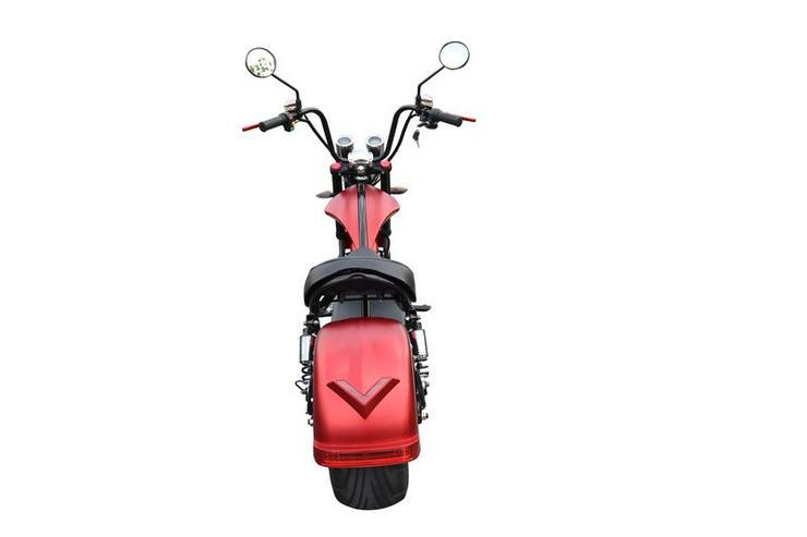 Bild 4: Elektroroller / Elektroscooter Harley Desig 2000W