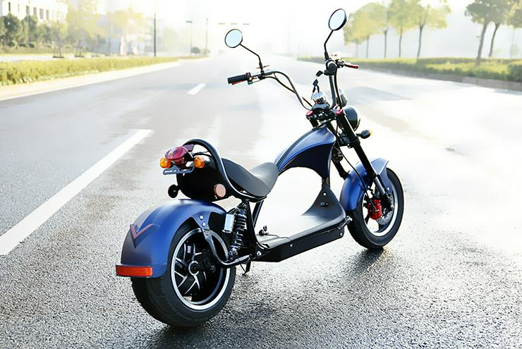 Bild 5: Elektroroller / Elektroscooter Harley Desig 2000W