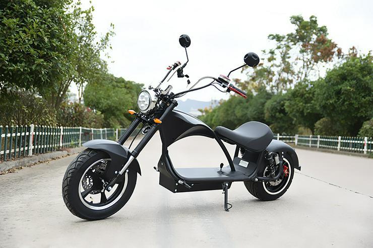 Bild 2: Elektroroller / Elektroscooter Harley Desig 2000W