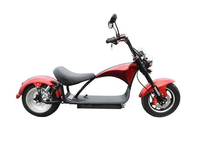 Bild 3: Elektroroller / Elektroscooter Harley Desig 2000W