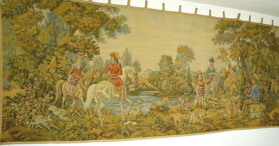 Gobelin Bildteppich Auftragsarbeit 345x135 (G049)