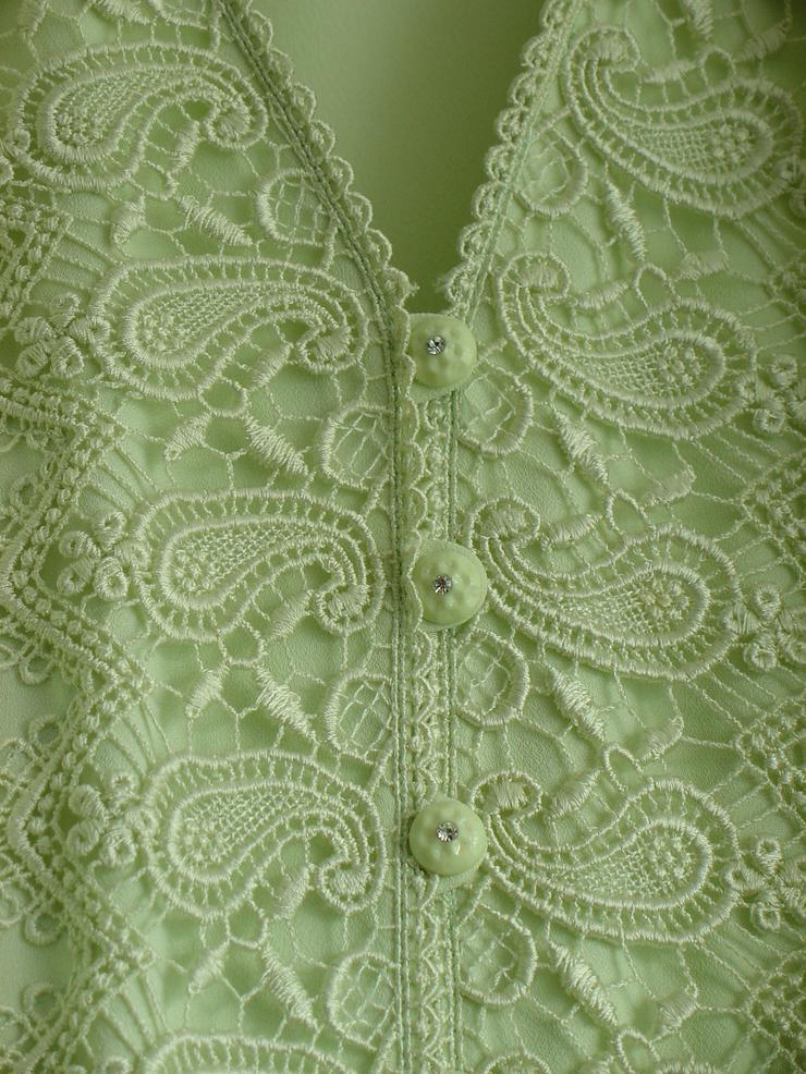 Bild 2: Damen-Kostüm Gr. 50, blassgrün, Oberteil mit Rock