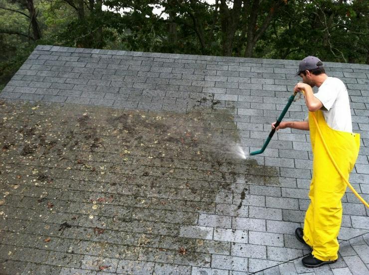 Reinigung von Dächern und Photovoltaik. Beste price
