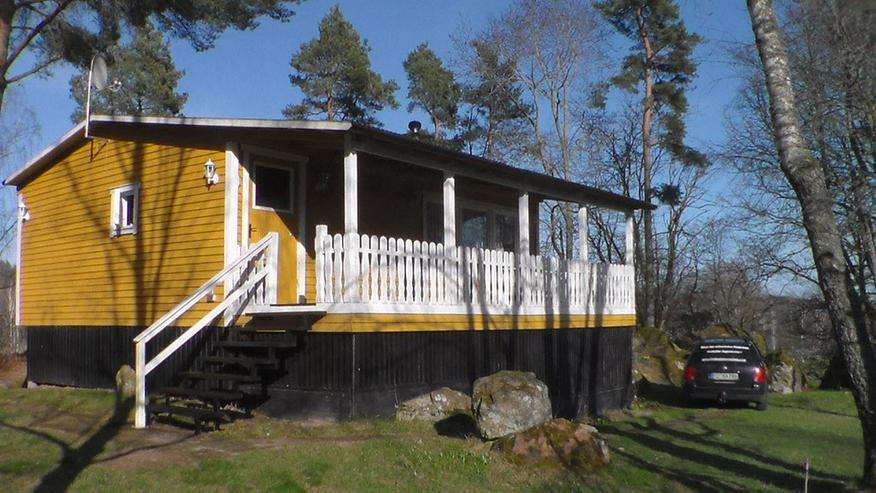 Ferienhaus, Bungalow, Ferienwohnung m. Sauna in Südschweden mit Boot in abseitiger Lage