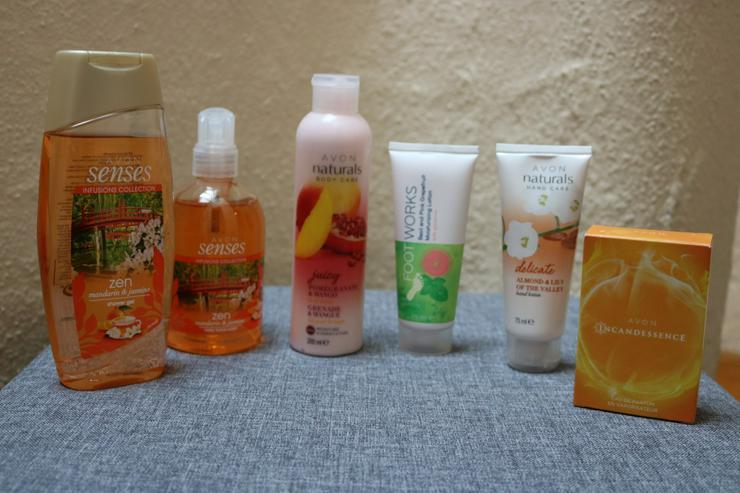 Körperpflege u. Parfum, 6-teilig, AVON