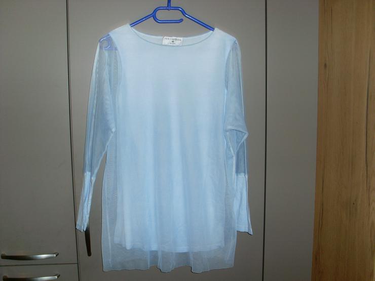 NEU: Damen Shirt 2in1 hellblau Gr. 34/36 von rick cardona