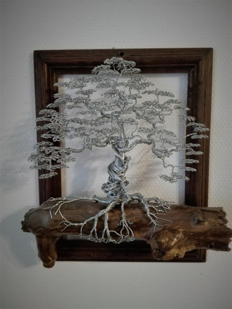 Skulptur Gemälde Baum des Lebens aus Metall