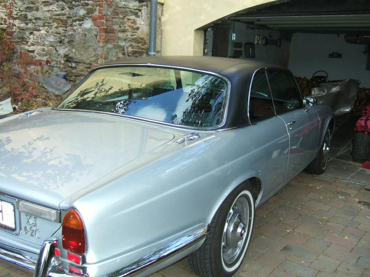 Jaguar XJ 6 Coupe 4,2 Silber Met.-Oldtimer-