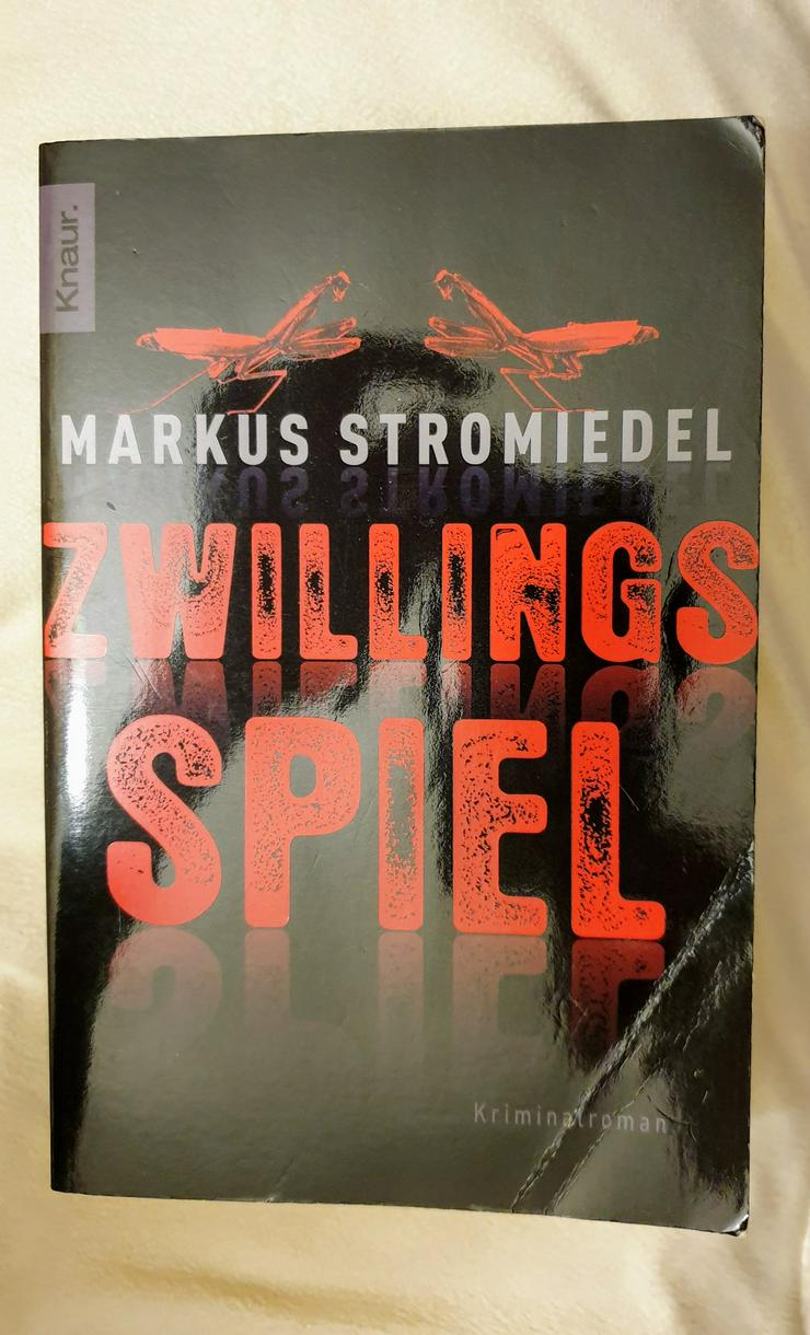"""""""Zwillingsspiel"""", Kriminalroman von Markus Stromiedl"""