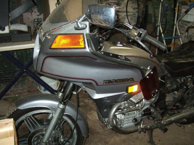 Honda  GL 500 D  Silber Wing -Oldtimer-