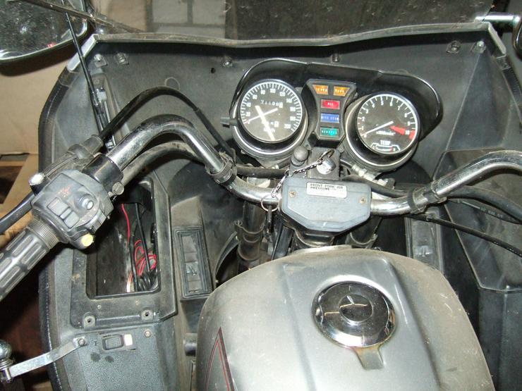 Bild 6: Honda  GL 500 D  Silber Wing -Oldtimer-