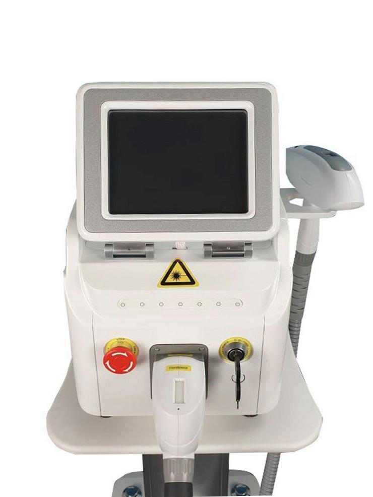 Bild 6: Q-switch Nd YAG Laser Gerät-Tattoo Entferner und 3 Filter / Wellenlängen