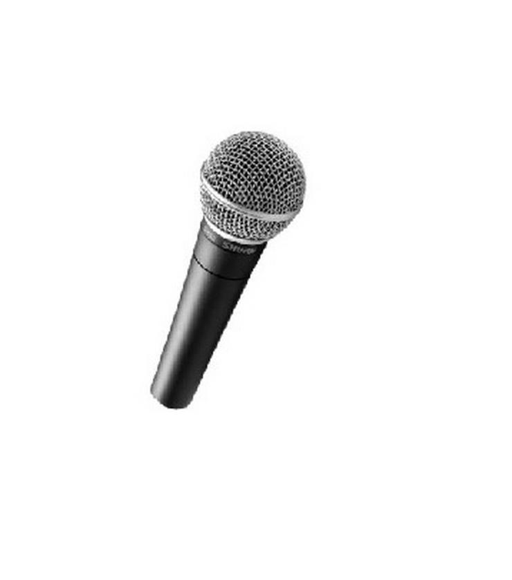Verleih Shure SM 58 Kabelmikrofon I Mikrofon mieten