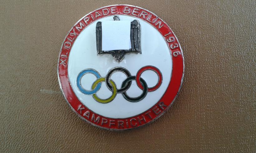 Abzeichen XI. OLYMPIADE BERLIN 1936 KAMPFRICHTER
