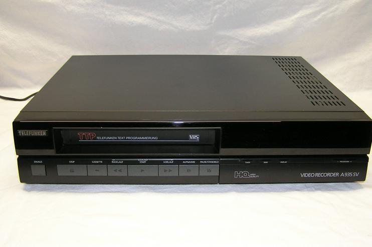 Videorecorder  Telefunken  VHS A 935 SV
