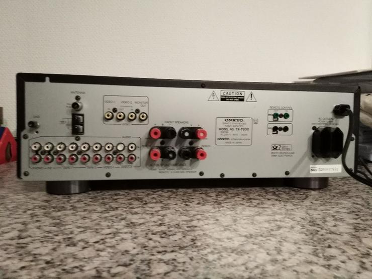 Bild 2: Onkyo_Receiver_TX-7830 kräftiger Stereo Receiver / Verstärker