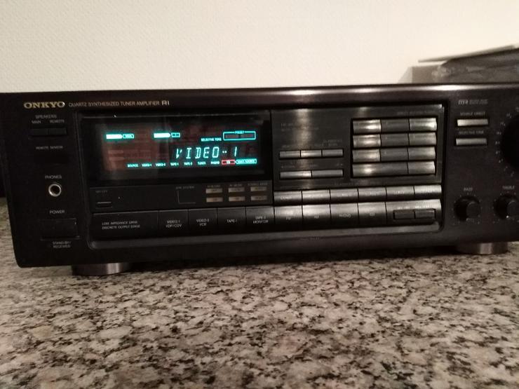 Onkyo_Receiver_TX-7830 kräftiger Stereo Receiver / Verstärker