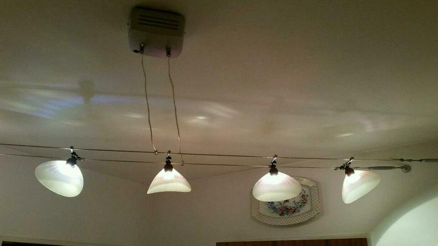 alogen Lampen 5 Stück a 20 Watt mit Trafo und Seilsystem