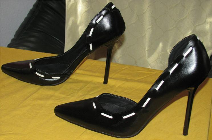 """schwarze Stilelettos High Heels von """"Erogance"""" in Gr. 45"""