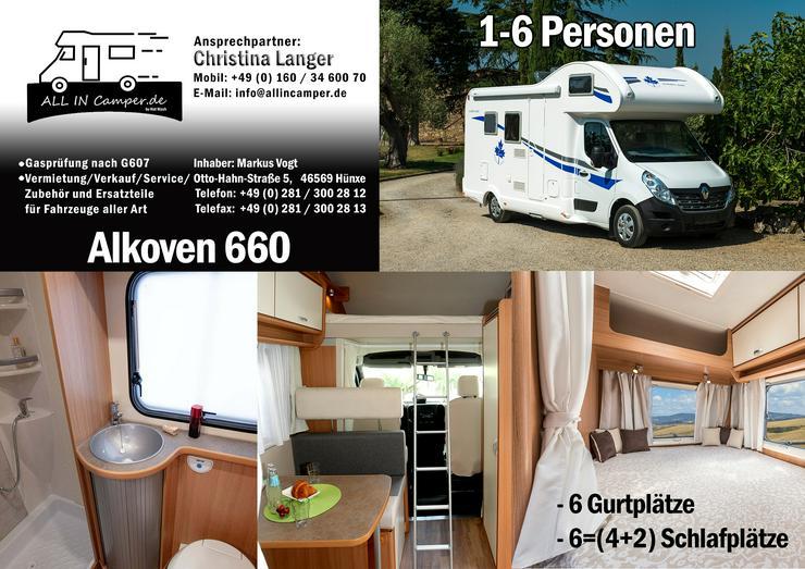 Bild 1:  Wohnmobil mieten1 -6 Personen 2020 Termine frei ab75- 145€ ALL In, auch mit Hund