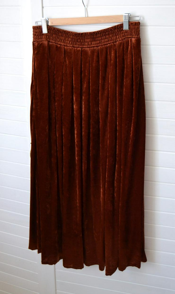 Samtrock Vintage Kupfer