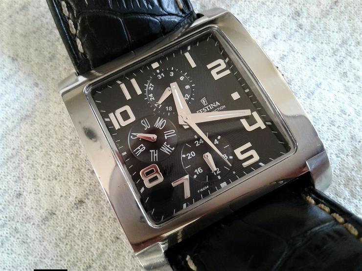 Festina Herren Multifunction Armbanduhr Model F16235