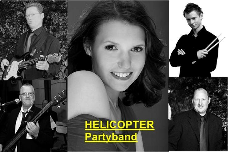 Bild 1: Liveband, HELICOPTER Partyband für ihre Events besondern für Karneval