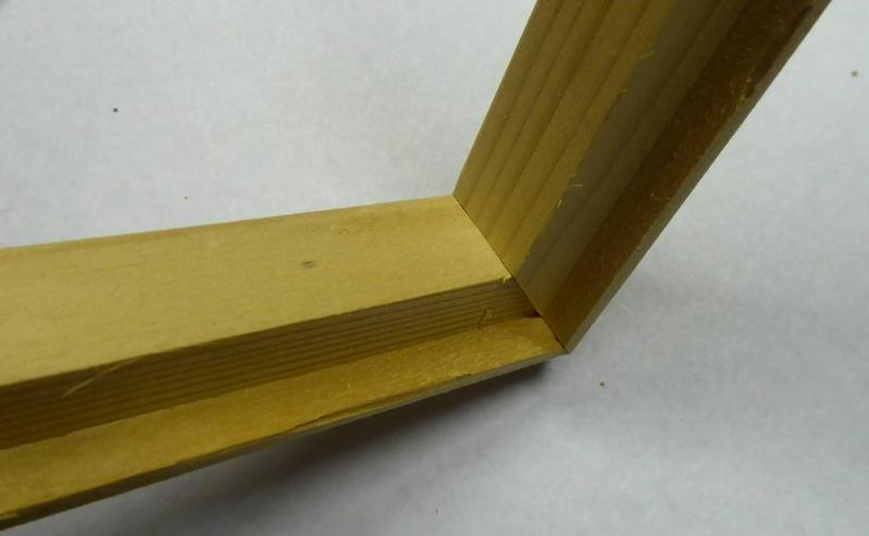 Bild 2: Holzrahmen verschiedene Größen und Ausführung
