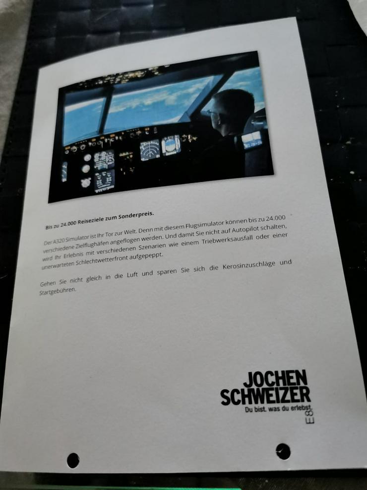 Jochen Schweizer Flugsimulator A320