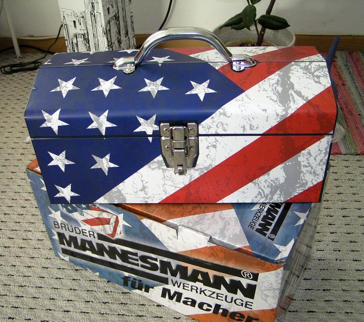 MANNESMANN WERKZEUG UNIVERSALBOX M41550 neu USA Stars