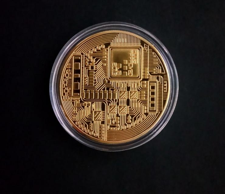 Bild 2: Bitcoin Sammlermünzen 2 Stück NEU / OVP