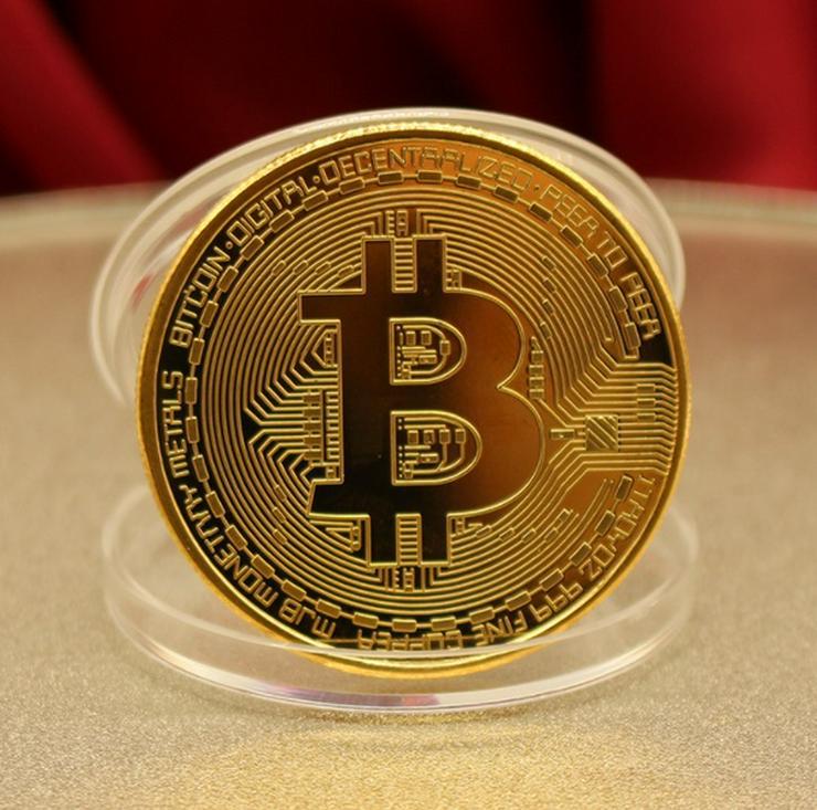 Bild 3: Bitcoin Sammlermünzen 2 Stück NEU / OVP