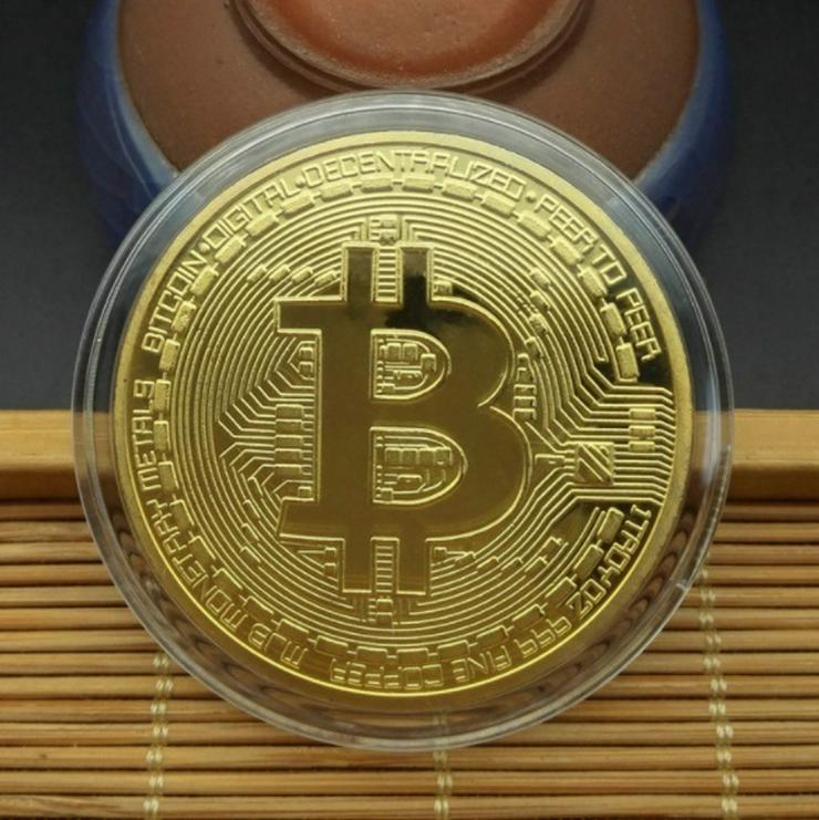 Bitcoin Sammlermünzen 2 Stück NEU / OVP