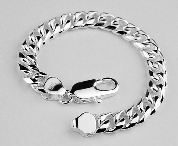 925 Silber gestempelt Armband Unisex Breite 6mm NEU/OVP