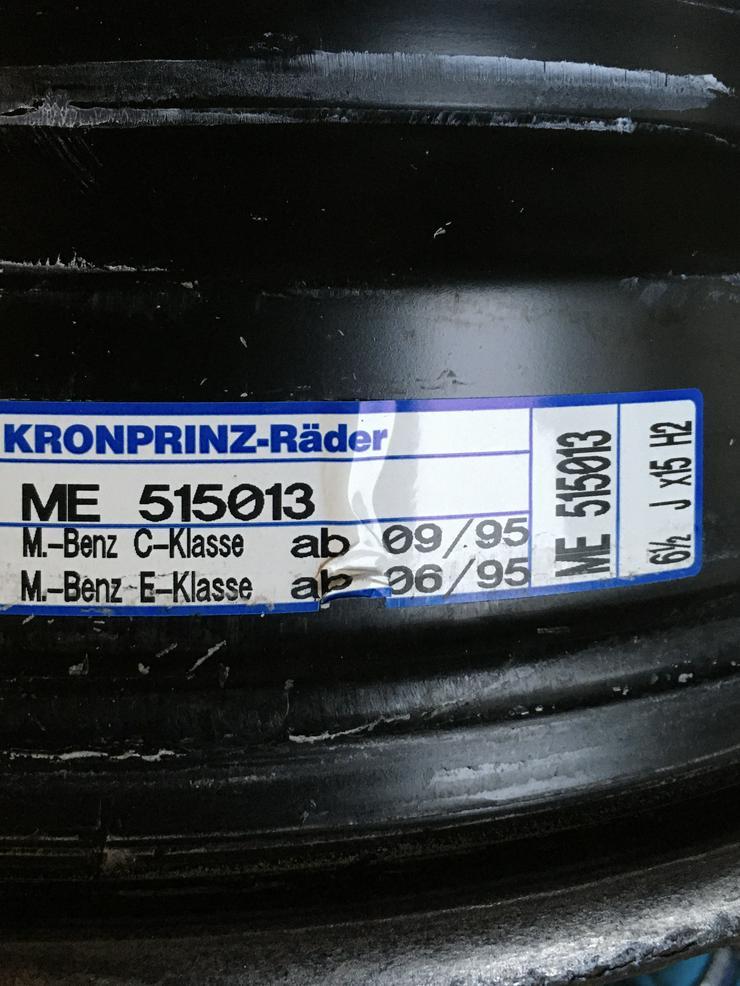 Mercedes W203 Stahlfelgen 15 zoll 4 St