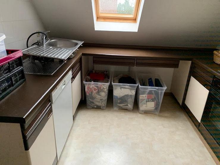 Küche -> Wenig genutzte Küche incl. Herd, Geschirrspüler, Kühlschrank