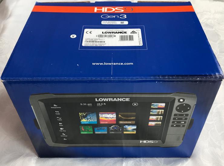 Bild 6: Lowrance HDS 12 Carbon Echolot Worldversion