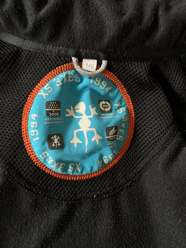 Bild 4: Exes Softshell Jacke blau, Größe 140