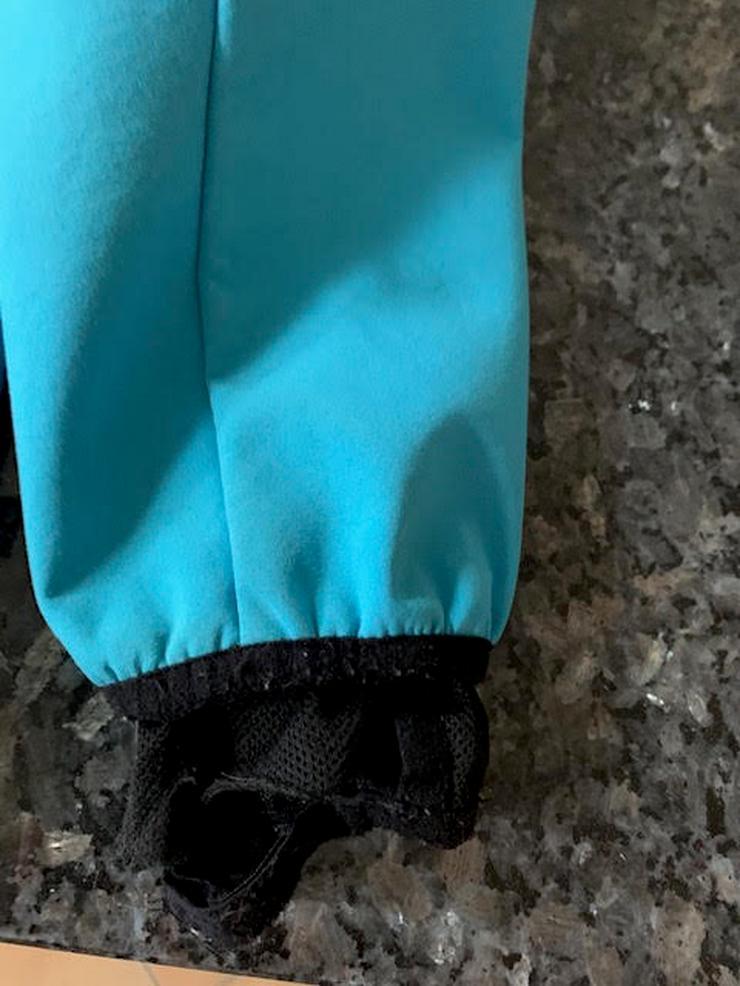 Bild 2: Exes Softshell Jacke blau, Größe 140