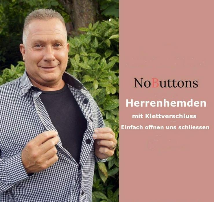 NOBUTTONS HEMDEN mit Klettverschluss.