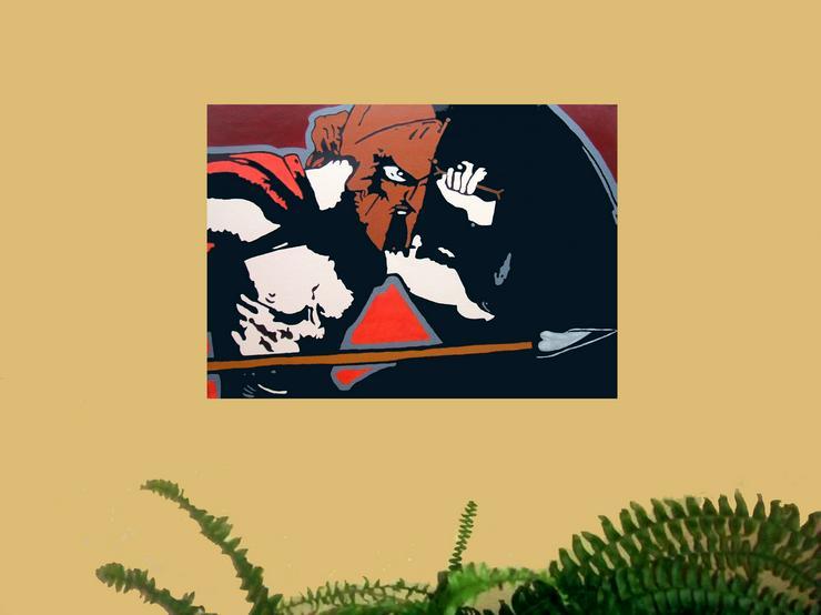 Bild 2: 300 der Film - Acryl Gemälde - 50 x 70 cm