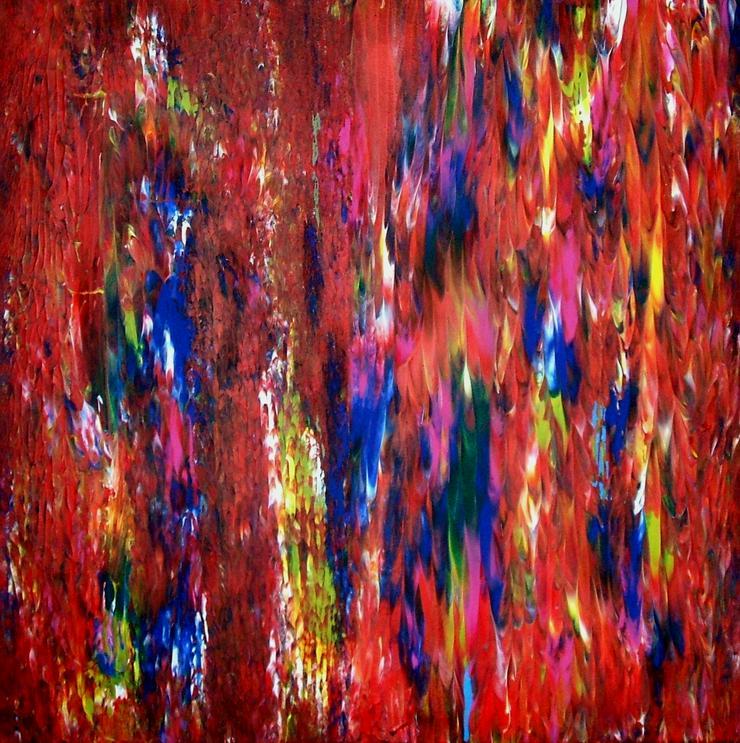 Abstrakte, Moderne Malerei Nr.2 - Gemälde ist 50 x 50 cm - Gemälde & Zeichnungen - Bild 1