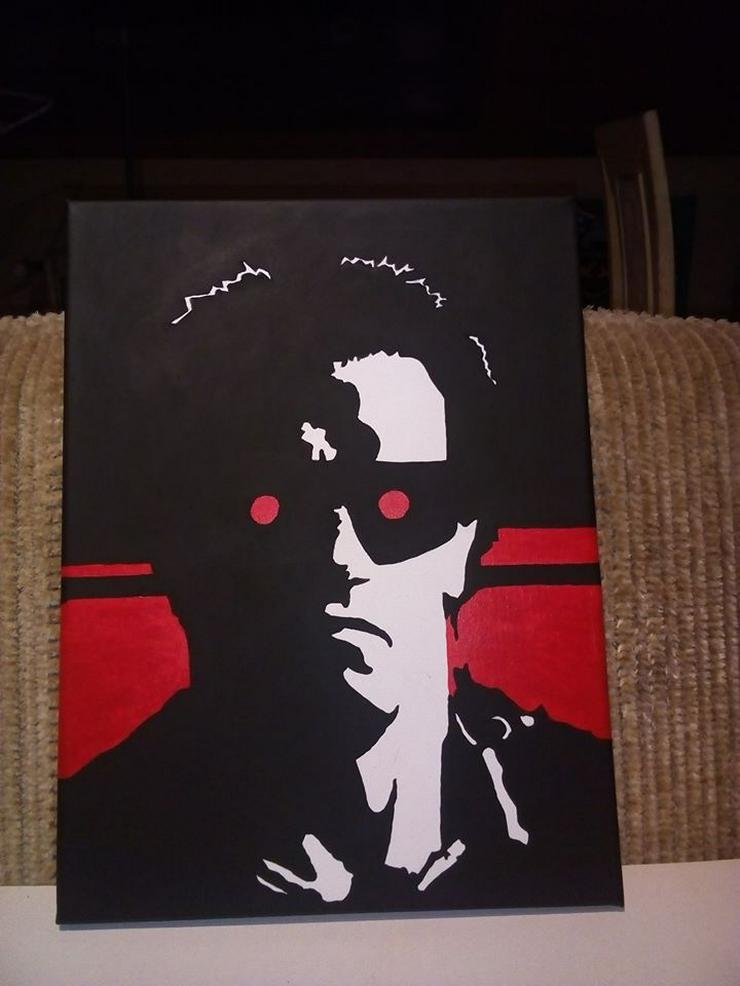 Terminator - Gemälde - 30 x 40 cm