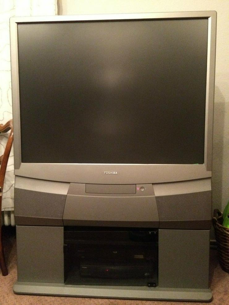 Bild 3: Toshiba Rückwandprojektor 43PJ03G KOSTENLOS