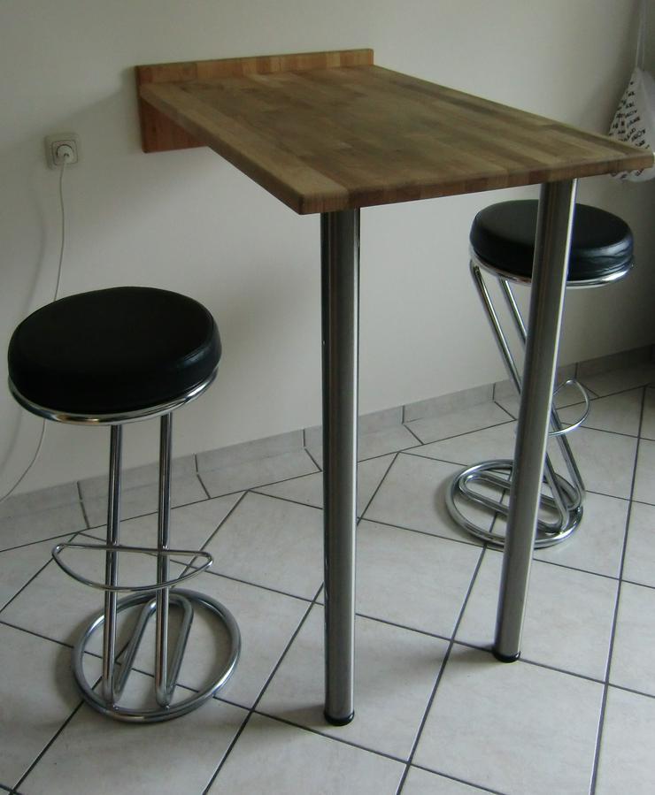 Küchenbartisch mit 2 Barhockern